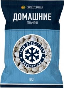 """Пельмени """"Домашние"""" ГОСТ ХК Сибирь 800 гр."""