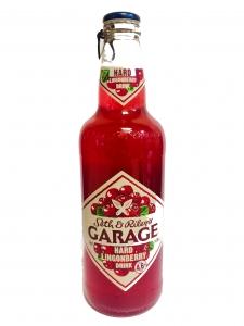 """Напиток ароматизированный изготовленный на основе пива """"Seth & Riley's Garage hard"""" 4,6% 0,44 л (Сет энд Райлис Гараж хард брусника)"""