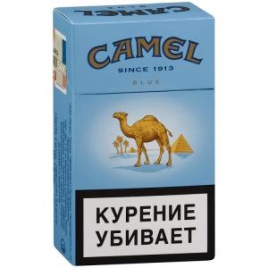 """Табачный набор сигареты с фильтром """"Кэмел блю"""" и спички"""