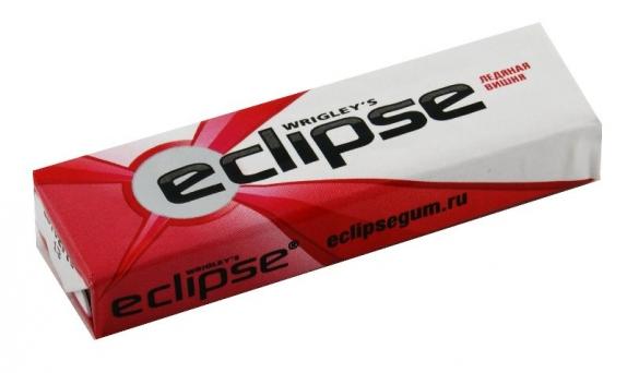 Жевательная резинка Eclipse ледяная вишня