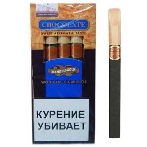 Сигариллы Хандельсголд CHOCOLATE 1 шт
