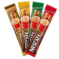 """Кофе """"Нескафе"""" 3 в 1 кофейный напиток 16 гр."""