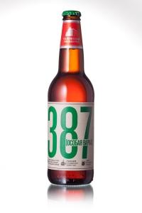 """Пиво """"387"""" особая варка светлое 0,5 л.,бут."""