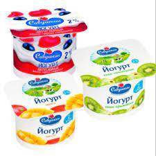 """Йогурт 2% """"Савушкин"""" в ассортименте 120 гр."""