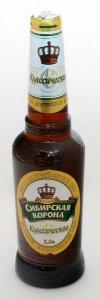 """Пиво """"Сибирская Корона"""" Классическое 5,0% (бут. 0,5 л)"""