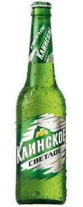 """Пиво """"Клинское"""" Светлое 4,5% (бут. 0,5 л)"""