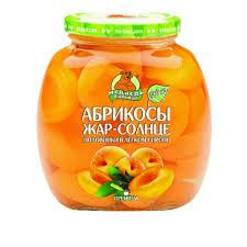 "Абрикос Жар-солнце ""Медведь Любимый"" 580 мл."