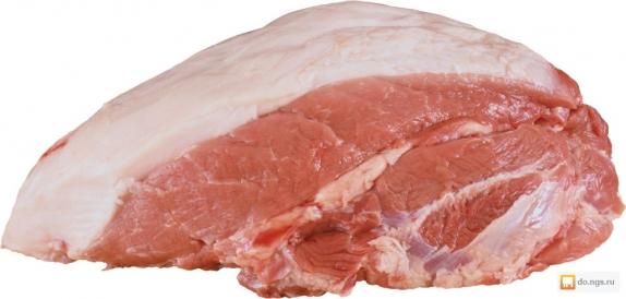 Вырезка свинины вес.