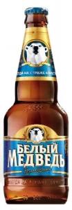 """Пивной напиток """"Белый Медведь Безалкогольное"""" 0,5% (бут. 0,5 л)"""