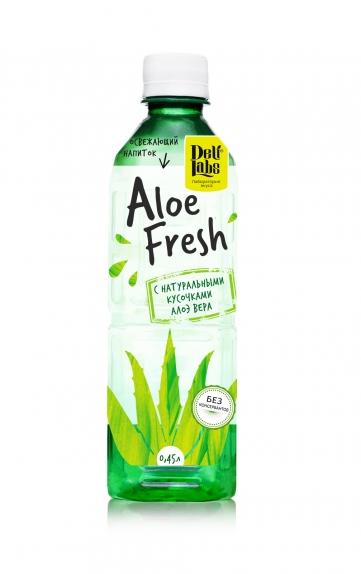 """Напиток """"Алоэ"""" с добавлением мякоти негаз. б/а 0,45 л."""