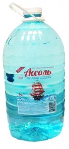 Вода питьевая Ассоль 6 л