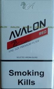 """Табачный набор сигареты с фильтром """"Авалон ред"""" и спички"""