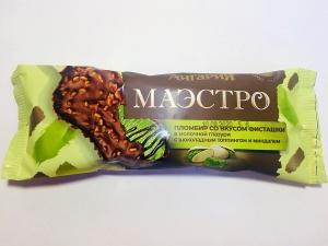 """Мороженое """"Маэстро""""(Ангария) в глазури с миндалем 80 гр."""