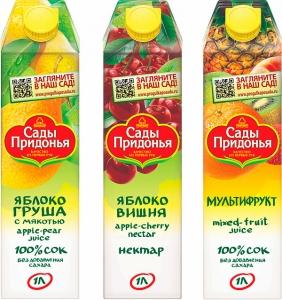 """Сок """"Сады Придонья"""" в ассортименте 1 л."""