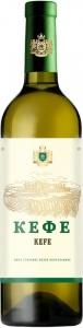 """Вино столовое полусладкое белое """"Кефе"""" 12,5% 0,75 л."""