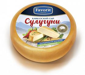 """Сыр мягкий """"Сулугуни копчёный"""" (Фаворит) 300 гр."""