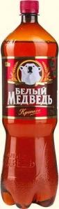 """Пиво """"Белый Медведь"""" Крепкое 8% 1,3 л."""