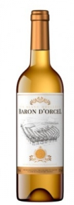 """Вино """"Baron D""""Orcel VDCE BLANC MOELLEUX"""" столовое полусладкое белое 10,5% 0,75л.(Франция)"""
