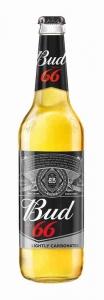 """Пиво """"BUD 66"""" c/б 4,3%  0,47 л."""