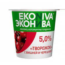 "Творожок ""ЭкоНива"" в ассортименте 5%  125 гр."