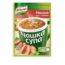 "Чашка супа ""Knorr"" (Кнорр) б/п 13,7 г в ассортименте"