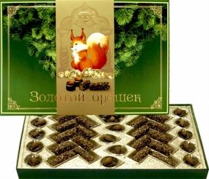 "Набор конфет ""Золотой орешек"" (Рахат) 215 гр."