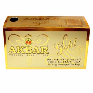 Чай Акбар Голд в пакетиках 25*2 г