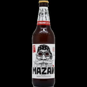 """Пиво """"Мазай"""" светлое нефильтрованное 4,8% с/б 0,5л"""