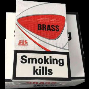 """Табачный набор сигареты с фильтром """"Brass"""" и спички"""