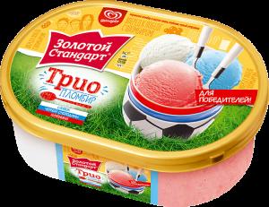 """Мороженое Инмарко """"Золотой стандарт"""" в ассортименте 800 мл."""
