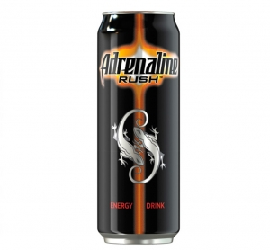 """Безалкогольный энергетический напиток """"Adrenaline Rush"""" (ж.б. 0,5 л)"""