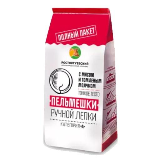 """Пельмени """"Росторгуевские"""" с топленым молоком 800 гр."""
