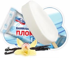 "Мороженое эскимо ГОСТ ""Пломбир ванильный"" 15%  (АНГАРИЯ) 80 гр."