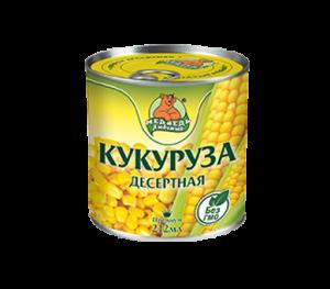 """Кукуруза десертная """"Медведь Любимый"""" Премиум 212 мл"""