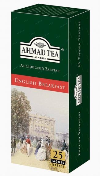 """Чай """"Ахмад"""" Английский завтрак (пак 25*2г)"""
