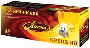 "Чай ""Лисма"" крепкий 25 п * 2 г"
