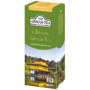 """Чай """"Ахмад"""" Китайский зеленый (пак 25*2г)"""