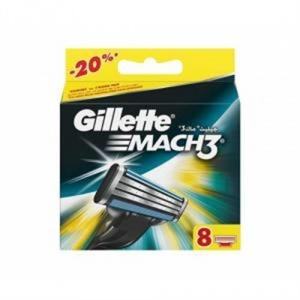 """Сменные кассеты """"Gillette Mach-3"""" Джилет 8 шт/уп"""
