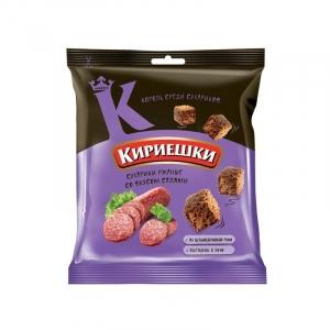 """Сухарики """"Кириешки"""" салями 40 гр."""