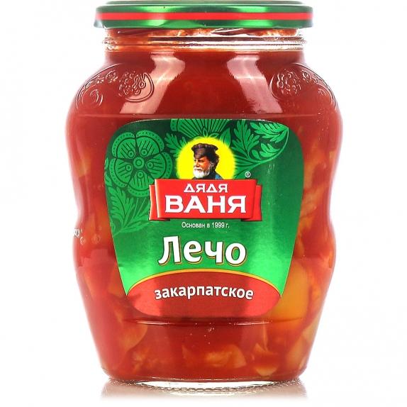 """Лечо """"Закарпатское"""" ст/б (Дядя Ваня) 460 гр."""
