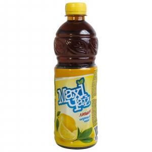 """Чай черный лимон """"Maxi"""" пэт 0,45 л."""