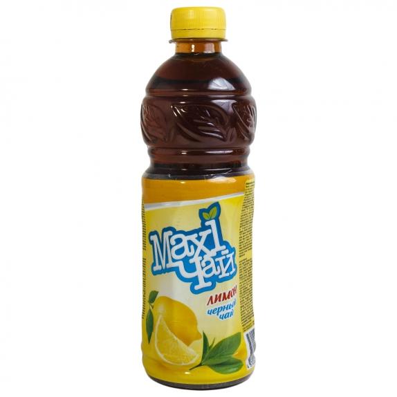 """Чай черный лимон """"Maxi"""" пэт 1,2 л."""
