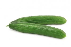 Огурцы длинные гладкие вес.