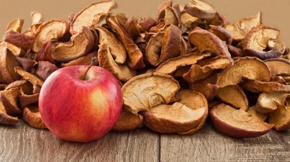 Яблоки сушеные для компота вес.1 кг.