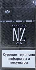 """Табачный набор сигареты с фильтром """"NZ Gold QS"""" и спички"""