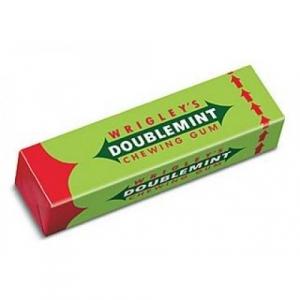 """Жевательная резинка """"Wrigleys doublemint"""""""