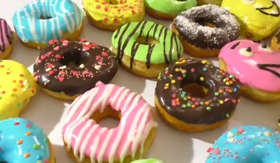 Пончики 1кг. вес