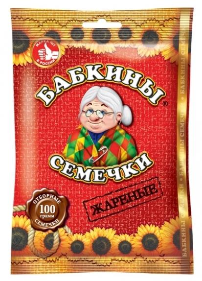 """Семечки """"Бабкины семечки"""" жареные 100 г"""