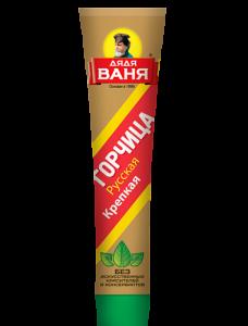 """Горчица пищевая русская """"Дядя Ваня"""" туба 80 гр."""