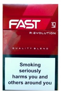"""Табачный набор сигареты с фильтром """"Фаст"""" (Fast) и спички"""